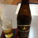 天里 - 瓶ビール 540円