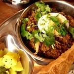 スパイス・ツリー - マトンひき肉とネパール山椒のカレー