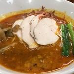 担々麺 ほおずき - 鶏チャーシュー担々麺 中辛