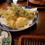 そばきり 萬屋町 助六 - 季節の天ぷら