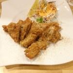 山西刀削麺 - 秘伝の唐揚げ380円