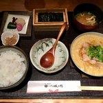 八代目儀兵衛 - 京のあんかけ親子丼の銀シャリ御膳