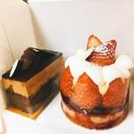 パティスリー リョーコ - 苺のタルトとキャラドゥ