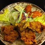 定食や - 鶏から牡蠣フライ(単品)