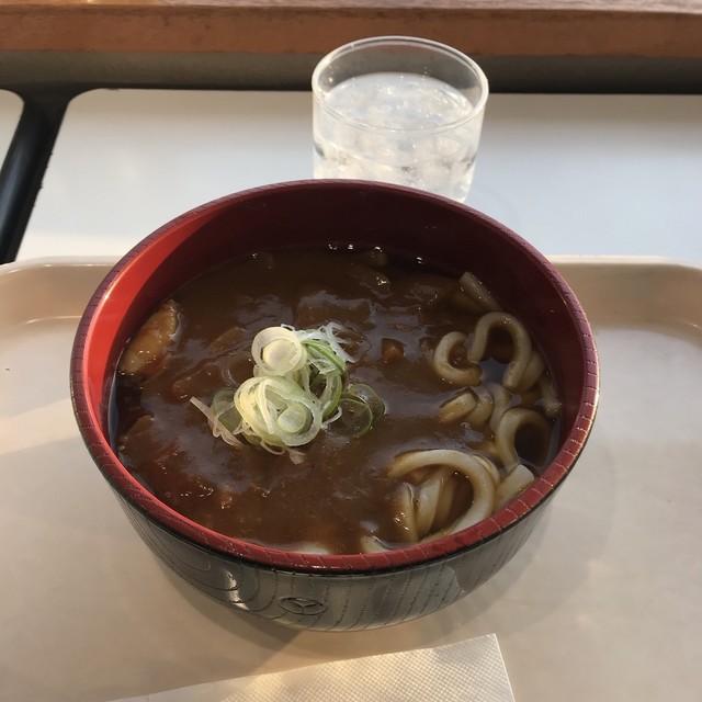 レストラン シェスタ - 自家製カレーうどん。 税込530円。 美味し。