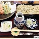手打そば かさ川 - 料理写真:天ぷらそば