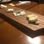 ビストロケ ラルブル - チーズ盛り合わせ