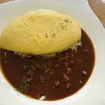 山麓館農場レストラン - 料理写真:プレミアム オムライス デミグラスソース