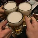 80064364 - 生ビールで乾杯!