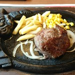 ブロンコビリー - 炭焼きやわらかランチステーキ1380円