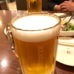 一鶴 - 生ビール(大)