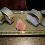 しる万 - 鯖の棒寿司