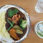 かれーの店 ポカラ - 野菜カレー880円