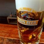 80068964 - 生ビール(キリン一番搾り)380円