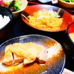 80069084 - 鶏の塩焼き おろしポン酢&麻婆春雨