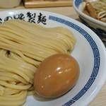 心の味製麺 - 濃厚豚骨魚介つけ麺・小 780円 炒め野菜 180円