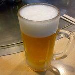 へんくつや - ☆生ビールでシュワァワァ~(^v^)☆