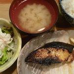 うしお - 銀鱈西京焼定食 税込800円