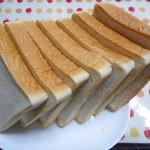 ぱんと洋菓子 オリムピックパン - 食パン(6枚切+ミミ)¥200-