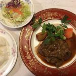 カフェ&レストラン ベーシック - 牛ヒレステーキいちじくソース…いちじくソースがたっぷりです♪