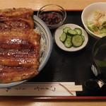 山水 - 料理写真:鰻丼LW(大盛)