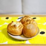 ベッカライ・ブロートハイム - ポテトフランス (¥235)、フランスあんぱん (¥154)、パンオウショコラ (¥230)