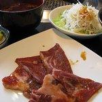 農園レストラン みやもとファーム - 国産豚カルビランチ(スネ肉)980円