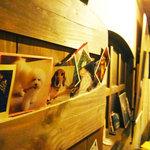 レザール - 心暖まる壁のペット写真コーナー