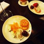レザール - チーズ3種・楽譜・苺&アメリカン・チェリー