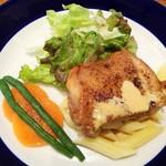 ル クール ピュー - 若鶏肉のポアレー