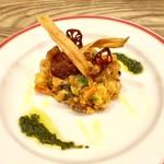 80084403 - 「リボリータ(トスカーナ風野菜煮込み)」(1000円)。