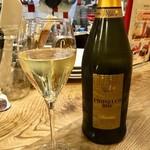 80084416 - スパークリングワイン「Antonini Ceresa Villa de Brun Prosecco NV」。