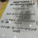 80086317 - 昼呑みメニュー