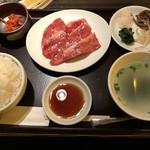 80087942 - 【2018.1.16】焼肉定食¥1280