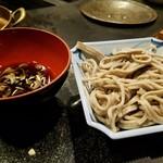 しゃぶ辰 - 〆の蕎麦