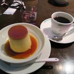 マーロウ - 北海道フレッシュクリームのプリンとトラジャコーヒー