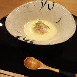赤坂 丈太郎 - タラバガニの茶碗蒸し