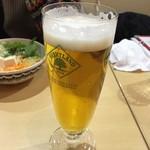 魚沼スイーツガーデン ナトゥーラ - 生ビール(税抜500円)
