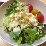 魚沼スイーツガーデン ナトゥーラ - サラダ2皿目