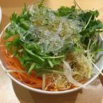 魚沼スイーツガーデン ナトゥーラ - かみさんのサラダ2皿目