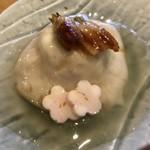 80093345 - ゆり根饅頭の胡麻豆腐あんかけ穴子のせ(寒光の膳セット)