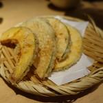 天ぷらと日本酒 明日源 - 南瓜天