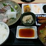 群青 - 料理写真:「お刺身定食」