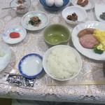 山崎旅館 - 朝食