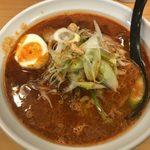 魔女のカレー - 「激辛カレー担々麺」990円