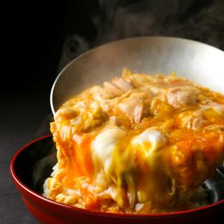 「ふわっふわ、ぷりっぷり」を実現!名古屋コーチン親子丼