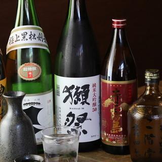 """【日本酒】喉ごし爽やかな""""獺祭""""を片手に至極のひと時を…"""