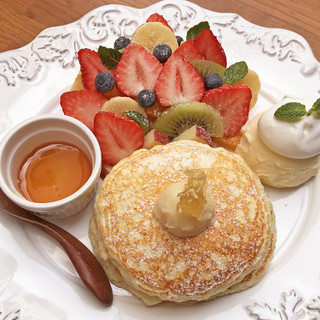 HoneyHuntパンケーキ