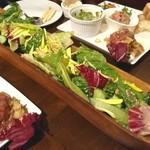 Alvino - 生野菜のサラダ