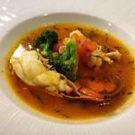 80099526 - オマール海老のスープ仕立て